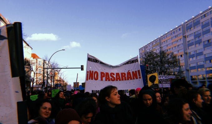 #8M / International Women's Day in Berlin